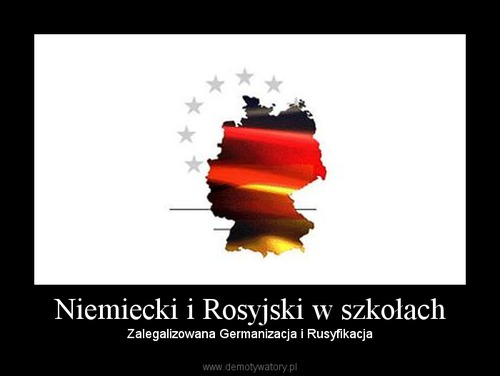 Niemiecki i Rosyjski w szkołach