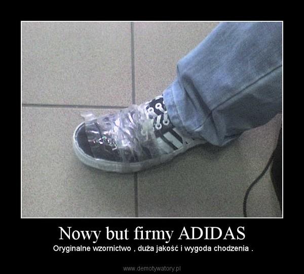 Nowy but firmy ADIDAS –  Oryginalne wzornictwo , duża jakość i wygoda chodzenia .