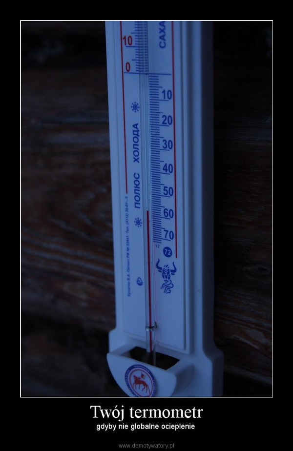 Twój termometr – gdyby nie globalne ocieplenie