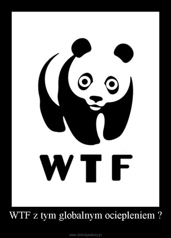 WTF z tym globalnym ociepleniem ? –