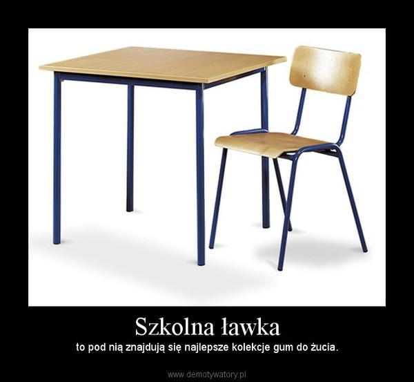 Super Szkolna ławka – Demotywatory.pl KQ59