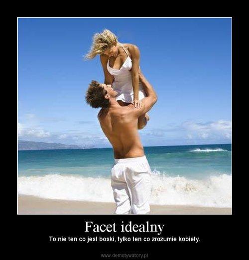 Facet idealny