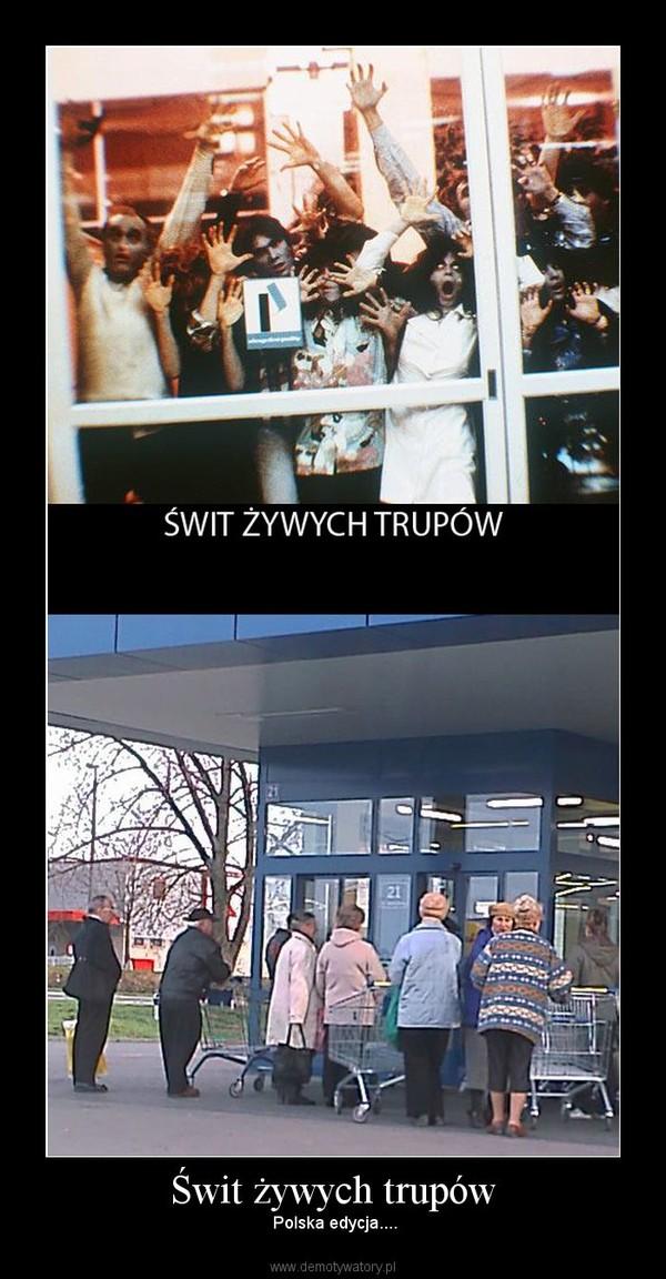 Świt żywych trupów –  Polska edycja....