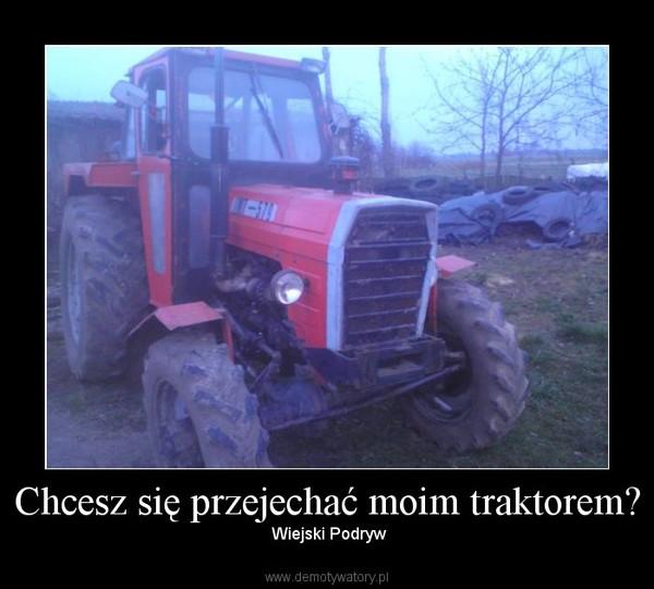 Chcesz się przejechać moim traktorem? – Wiejski Podryw