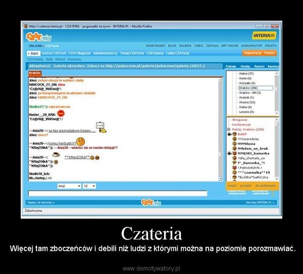 Interia czateria pl