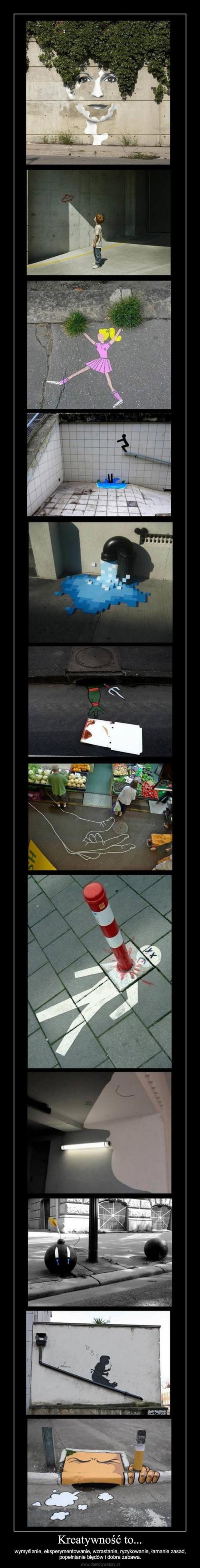 Kreatywność to...