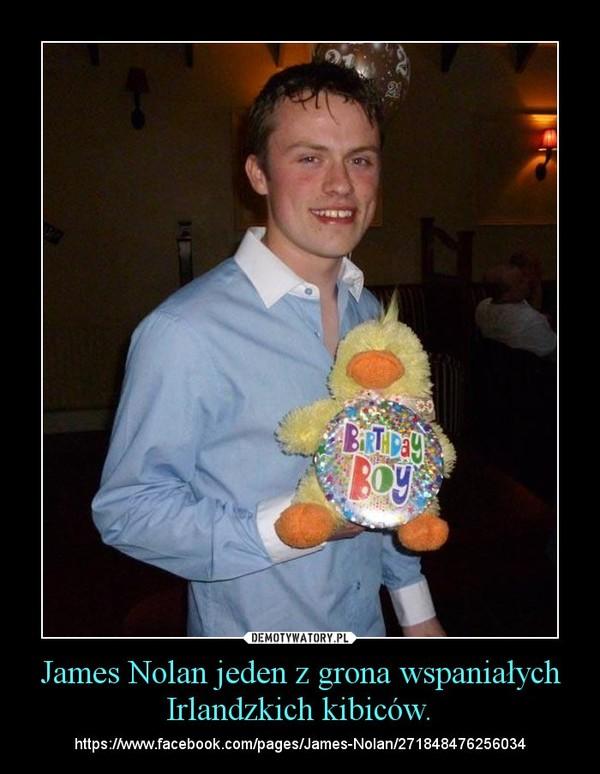 James Nolan jeden z grona wspaniałych Irlandzkich kibiców. – https://www.facebook.com/pages/James-Nolan/271848476256034