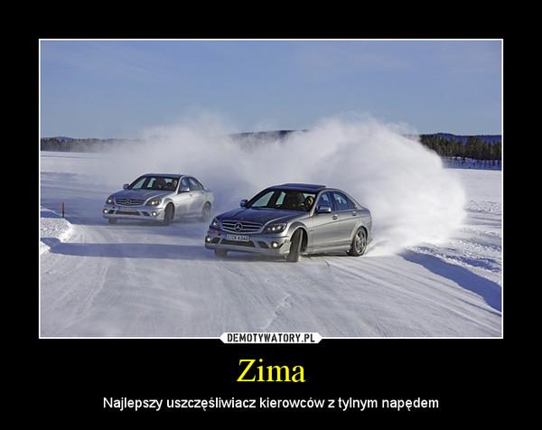 Zima – Najlepszy uszczęśliwiacz kierowców z tylnym napędem