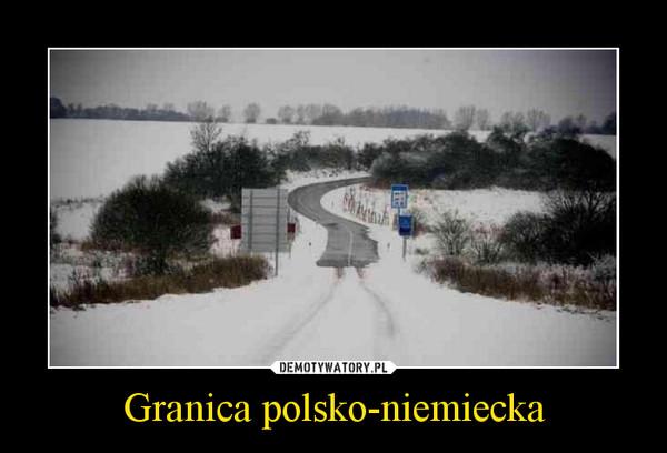 Granica polsko-niemiecka –
