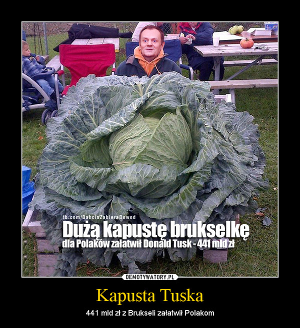 Kapusta Tuska – 441 mld zł z Brukseli załatwił Polakom