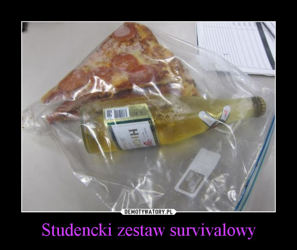 Studencki zestaw survivalowy –