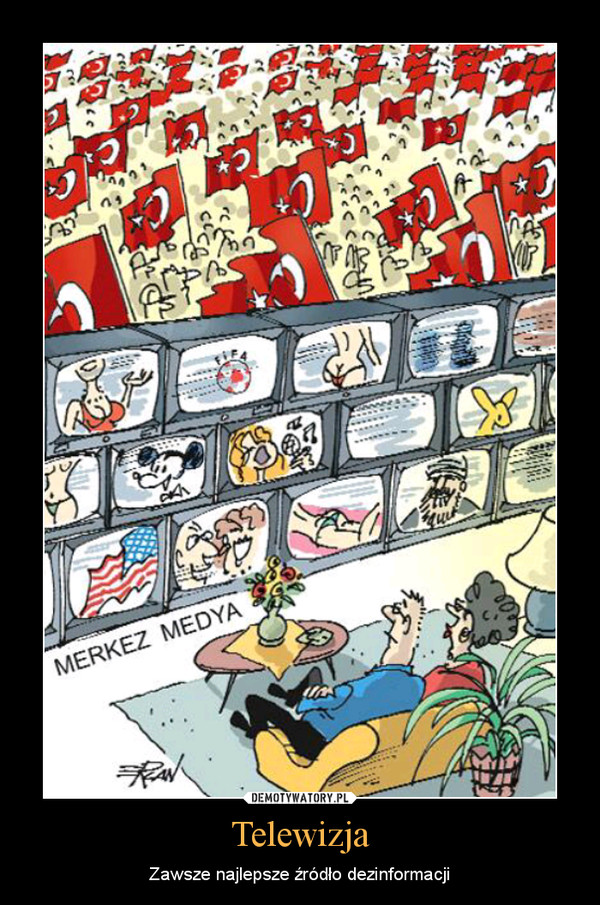 Telewizja – Zawsze najlepsze źródło dezinformacji