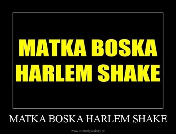 MATKA BOSKA HARLEM SHAKE –