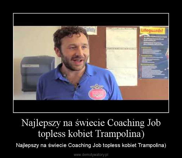 Najlepszy na świecie Coaching Job topless kobiet Trampolina) – Najlepszy na świecie Coaching Job topless kobiet Trampolina)