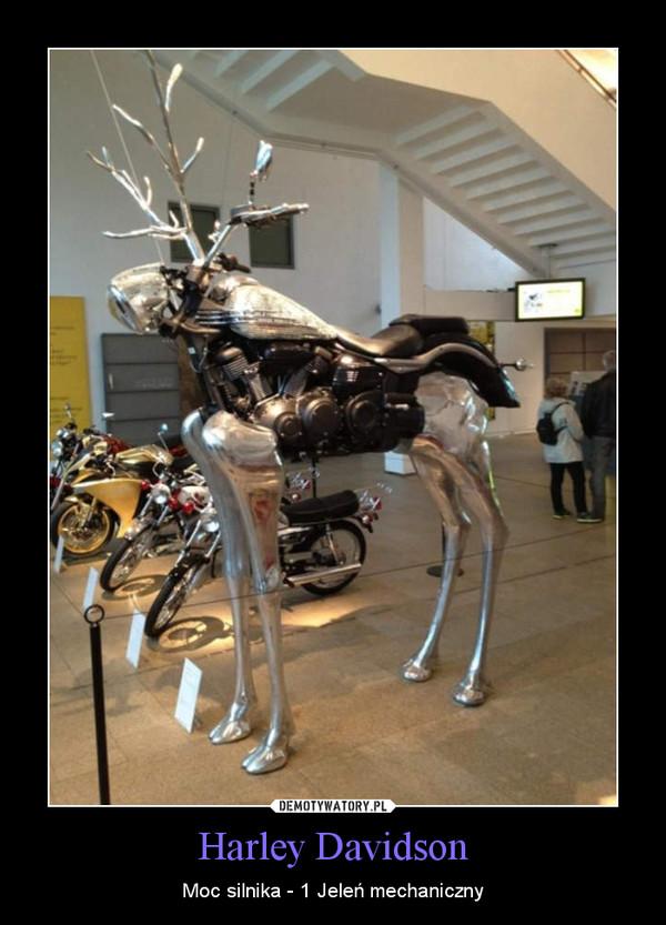 Harley Davidson – Moc silnika - 1 Jeleń mechaniczny