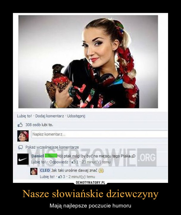Nasze słowiańskie dziewczyny – Mają najlepsze poczucie humoru
