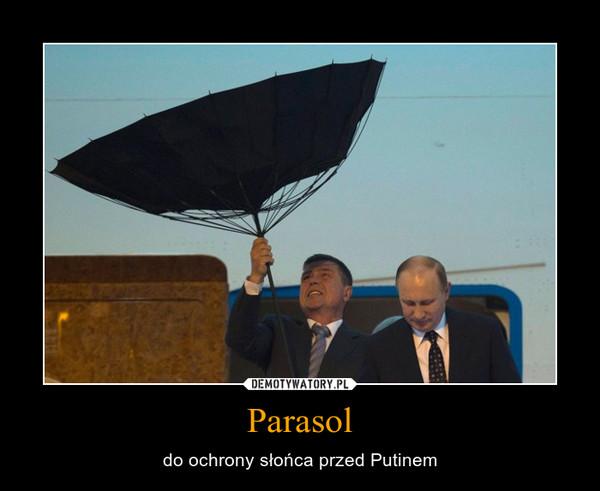 Parasol – do ochrony słońca przed Putinem