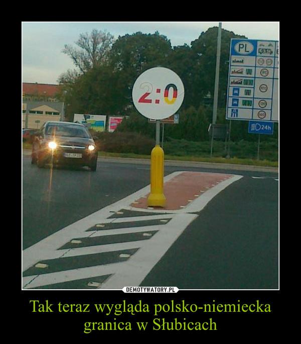 Tak teraz wygląda polsko-niemiecka granica w Słubicach –