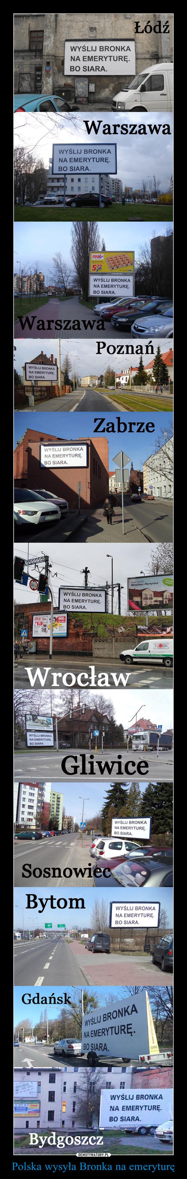 Polska wysyła Bronka na emeryturę –