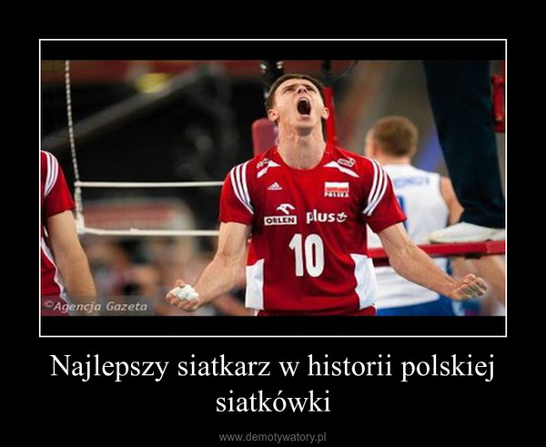 Najlepszy siatkarz w historii polskiej siatkówki –