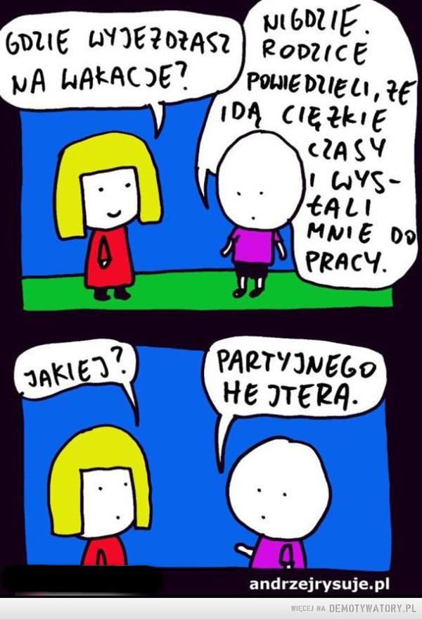 ''Partyjny'' hejter –