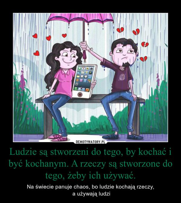 kochać i być kochanym cytat