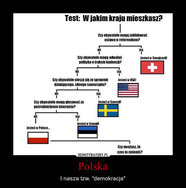 """Polska – I nasza tzw. """"demokracja"""""""