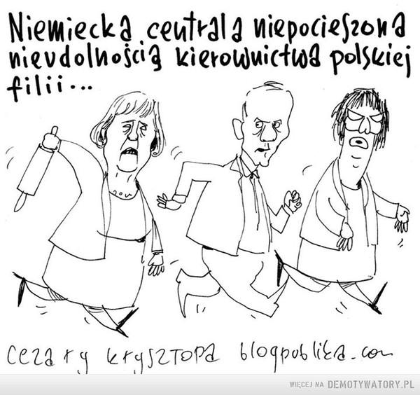 Merkel niepocieszona –