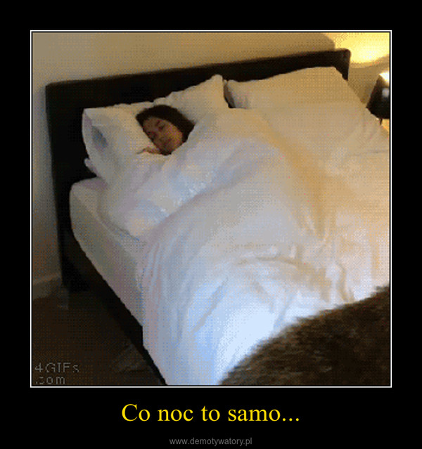 Co noc to samo... –