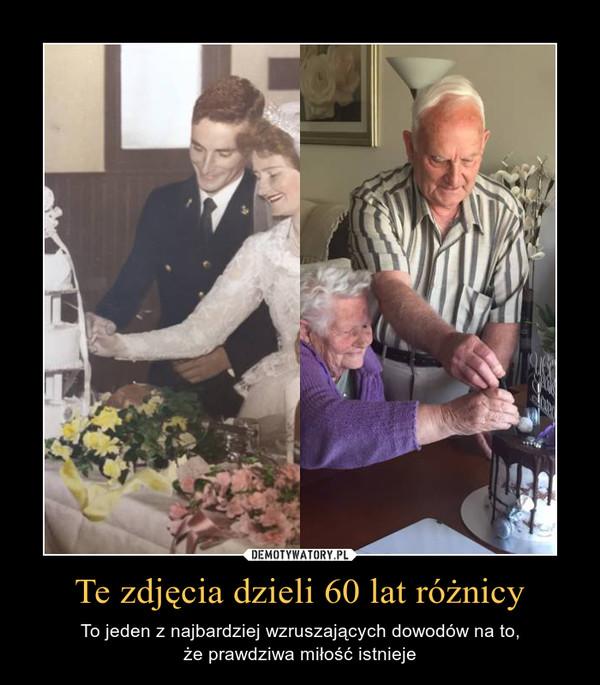 Te zdjęcia dzieli 60 lat różnicy – To jeden z najbardziej wzruszających dowodów na to,że prawdziwa miłość istnieje
