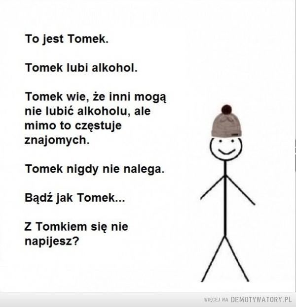 Brawo Tomek –