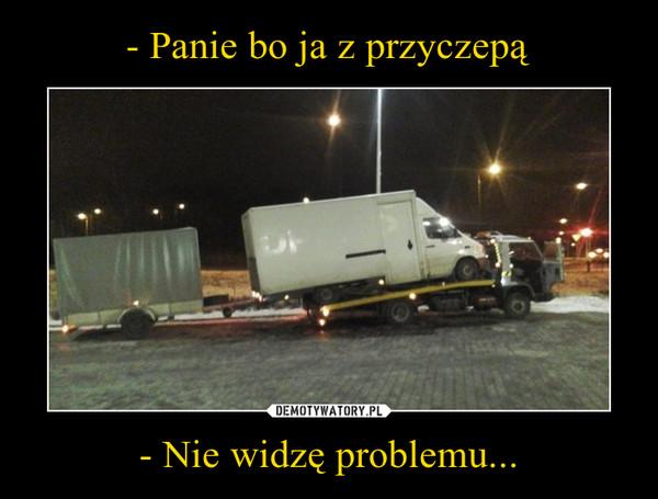 - Nie widzę problemu... –