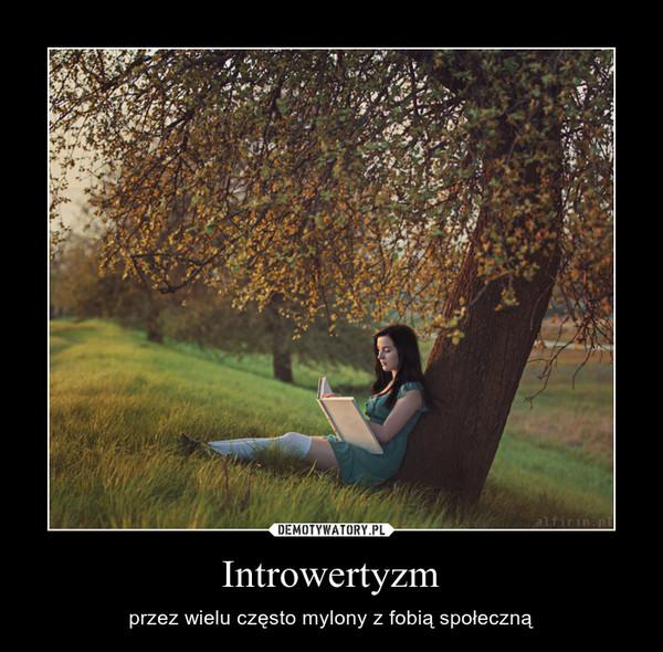 Introwertyzm – przez wielu często mylony z fobią społeczną