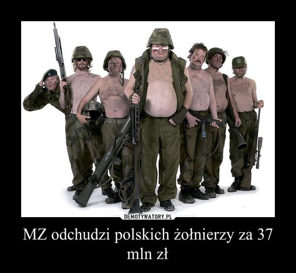 MZ odchudzi polskich żołnierzy za 37 mln zł –