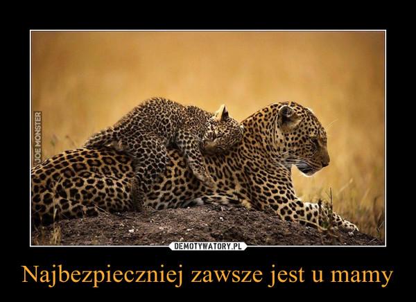 Najbezpieczniej zawsze jest u mamy –