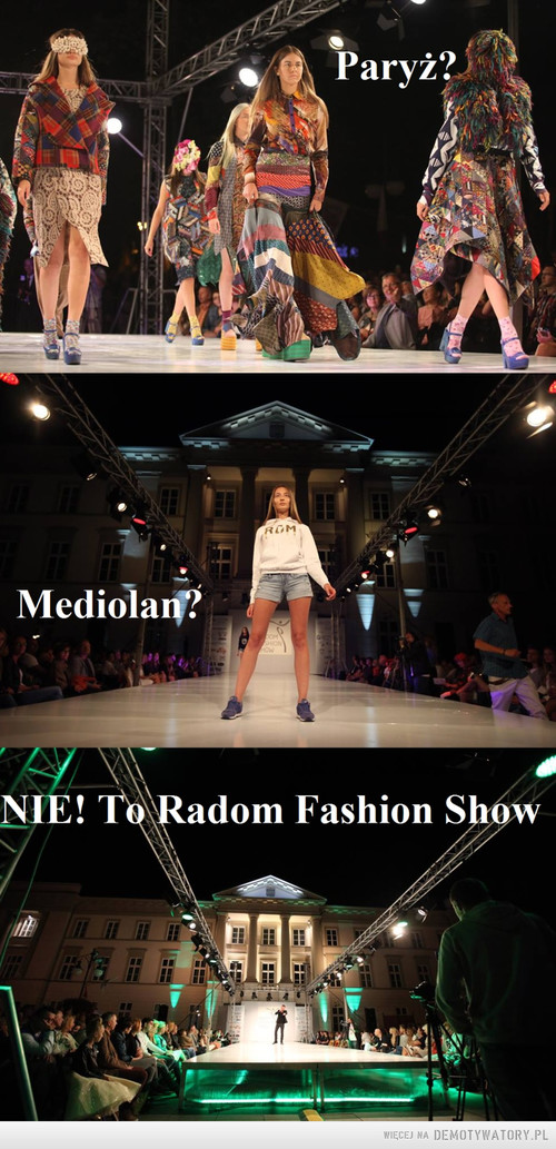 Radom Fashion Show 13.08.2016