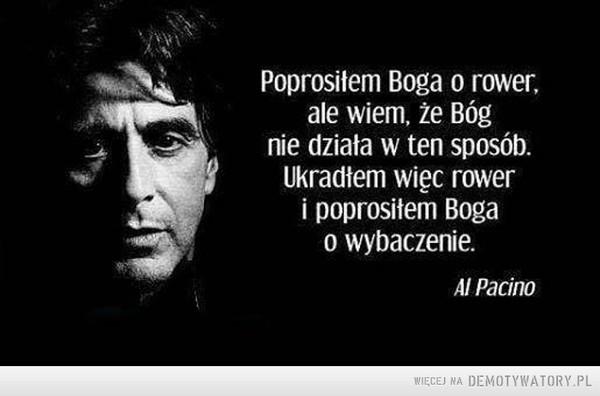 Al Pacino o Bogu –