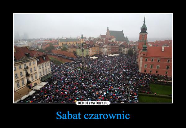 Sabat czarownic –