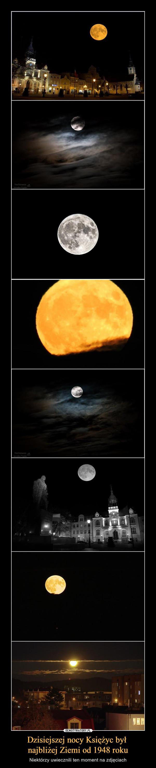 Dzisiejszej nocy Księżyc był najbliżej Ziemi od 1948 roku – Niektórzy uwiecznili ten moment na zdjęciach