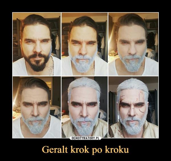 Geralt krok po kroku –
