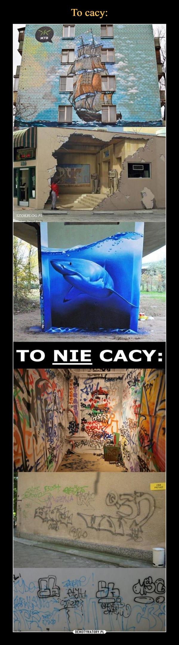 –  TO NIE CACY: