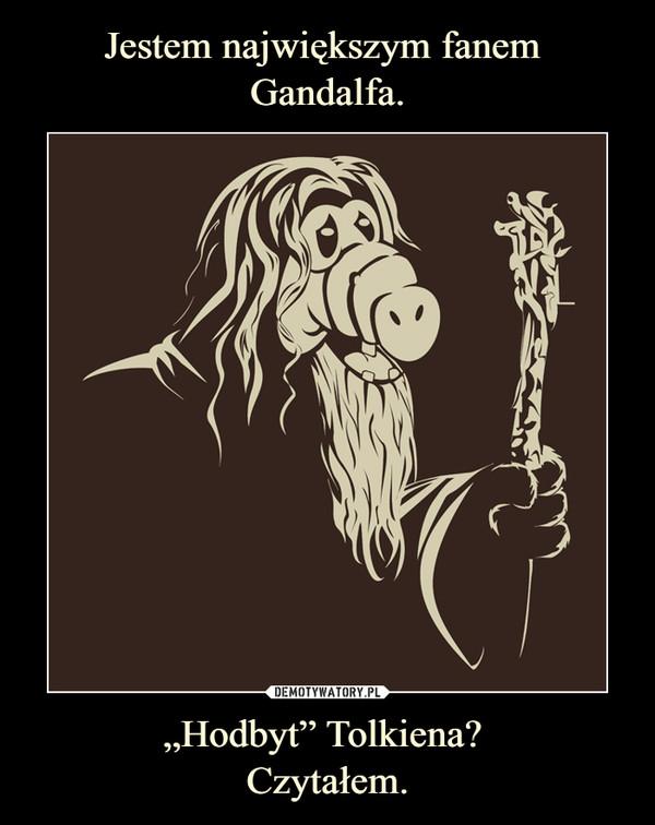 """""""Hodbyt"""" Tolkiena? Czytałem. –"""