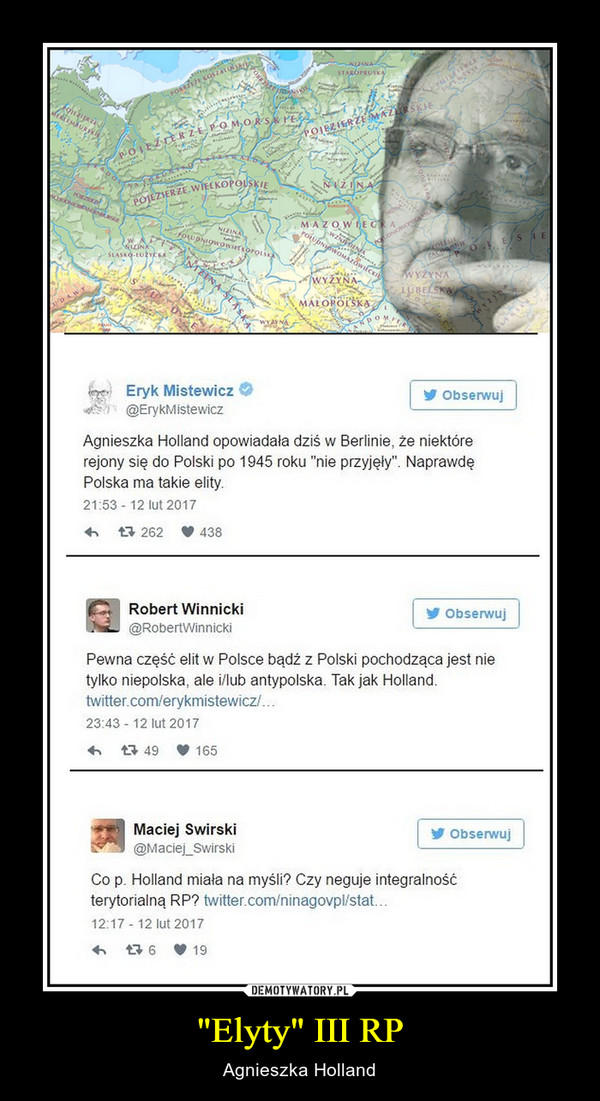 """Elyty"" III RP – Agnieszka Holland"
