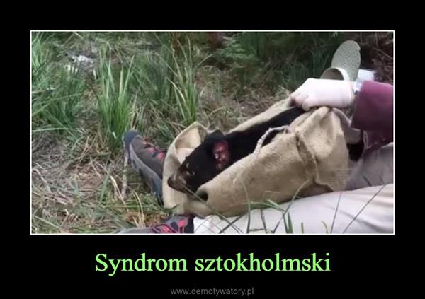 Syndrom sztokholmski –