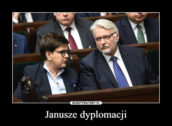 Janusze dyplomacji –