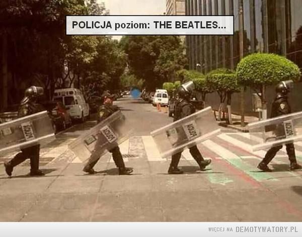 Policja poziom: The Beatles... –