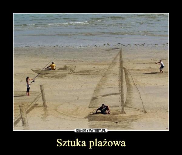 Sztuka plażowa –