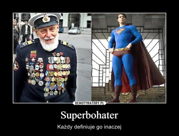 Superbohater – Każdy definiuje go inaczej