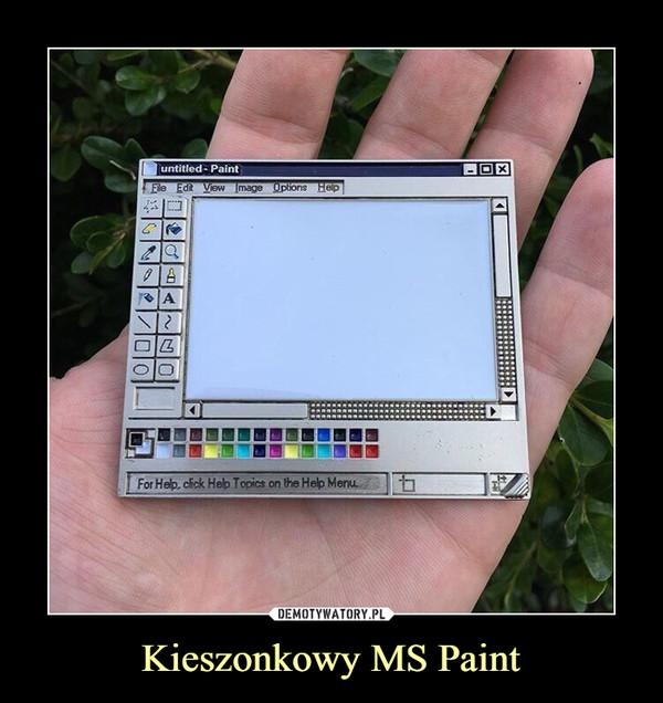 Kieszonkowy MS Paint –