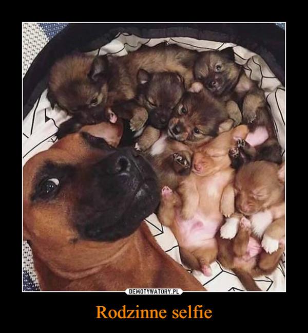 Rodzinne selfie –